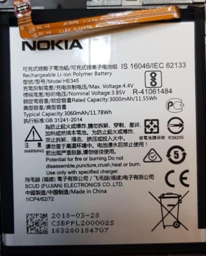 باتری اصلی نوکیا 6.1